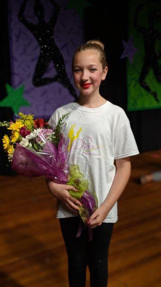 Eva at Recital