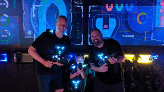 Laser Tag with Uncle E