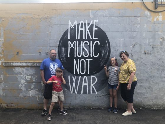 Music not War