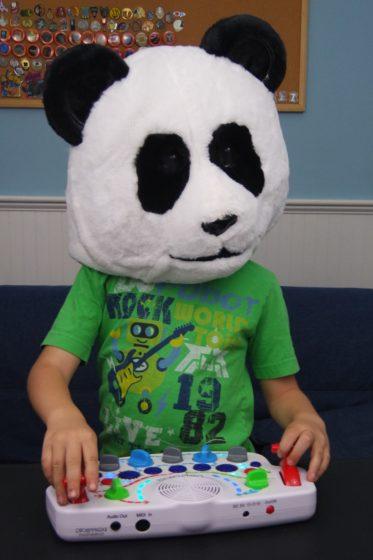Andrew as a Panda DJ