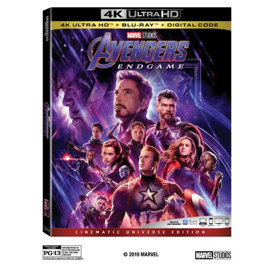 Avengers Endgame UHD