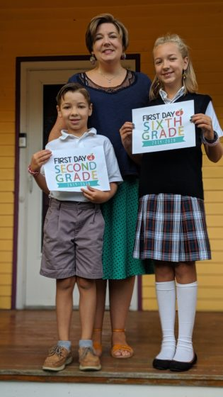 First day of school 2019