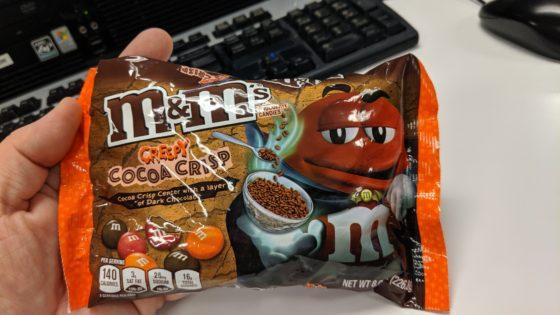 Cocoa Crisp M and Ms