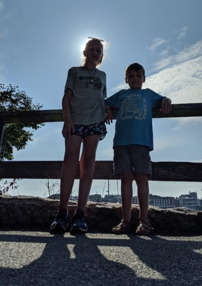 At Woods Hole Harbor