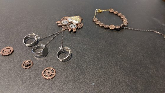 custom jewelry for comicon