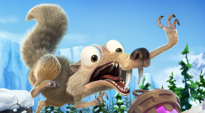 New Trailer and Release date for 'Ice Age: Scrat's Nutty Adventure'