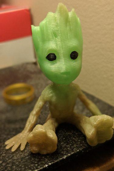 3D Printed Groot