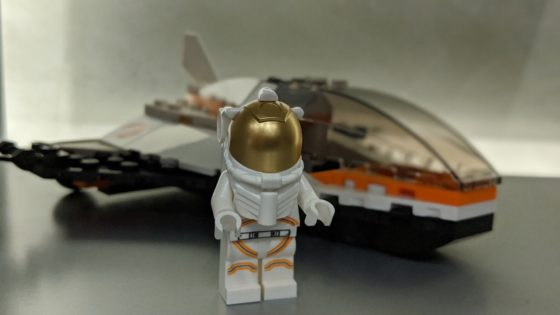 LEGO Space Satellite Service