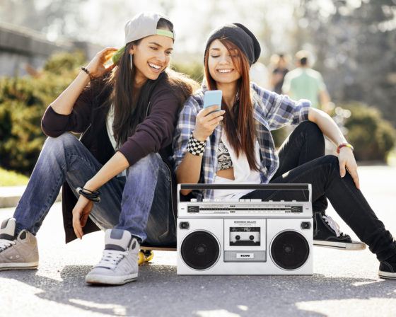 ION Boombox Deluxe Bluetooth Speaker Lifestyle Image 1