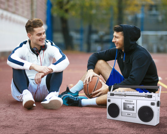 ION Boombox Deluxe Bluetooth Speaker Lifestyle Image 2