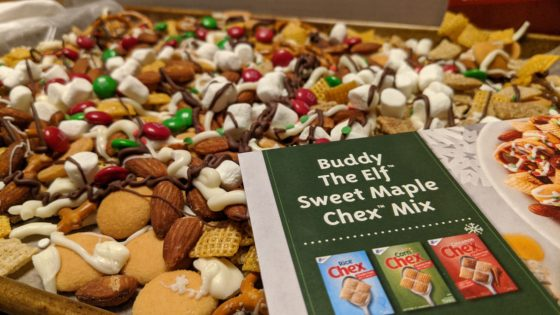 Buddy the Elf Chex Mix