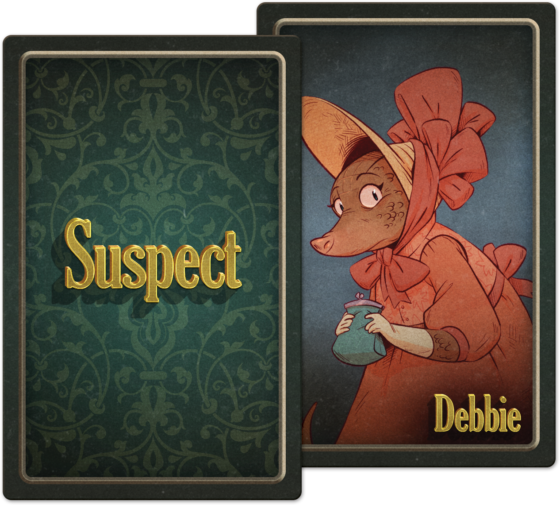 Five Minute Mystery Suspect Card