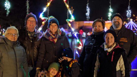 Family at La Salette