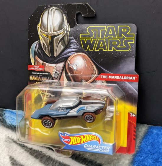 The Mandalorian Hot Wheels Car