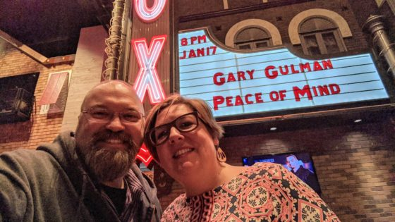 At The Fox Theater for Gary Gulman