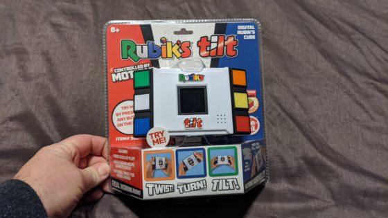 New Rubiks Tilt