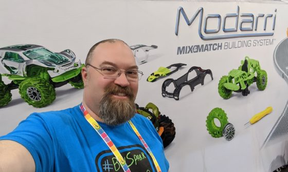 At the Modarri Booth
