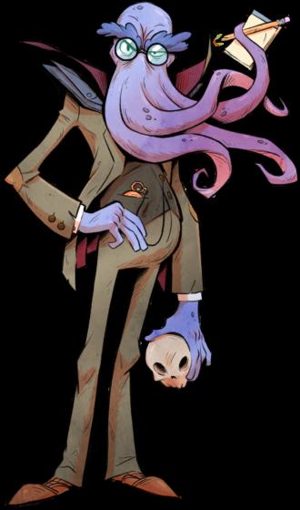 Dr. Tentaculous  Mind Flayer