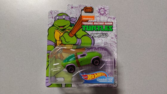 Donatello Hot Wheels Character Cars