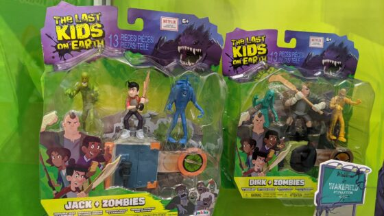 Jack and Dirk  Playsets