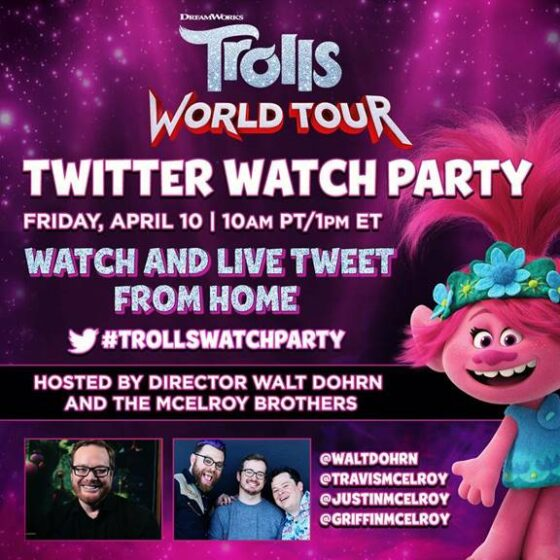 Trolls World Tour Party Ideas