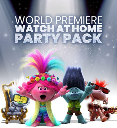 Trolls World Tour Party Pack