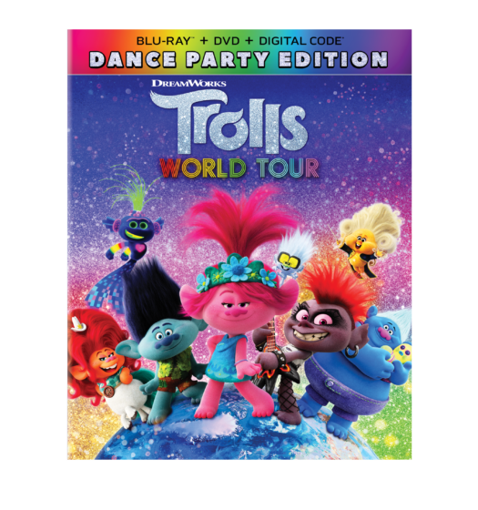 Trolls DVD Cover