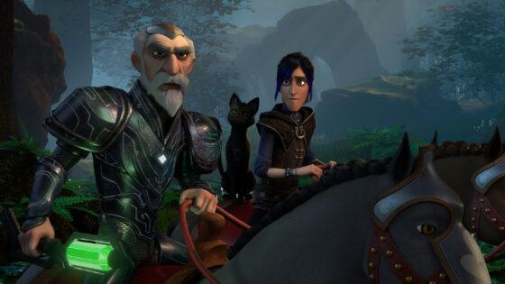 5 Merlin, Archie, Douxie