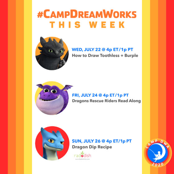 Camp DreamWorks Week 5