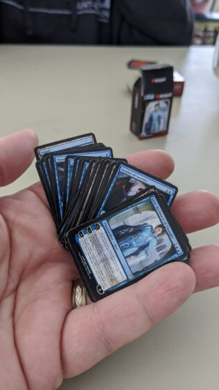 Whole Deck in the Palm of my hand