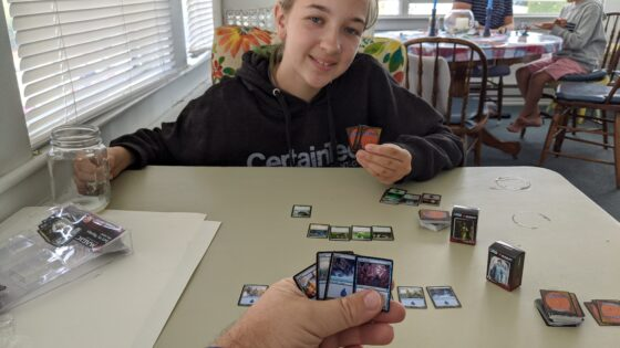 Playing Magic with Eva