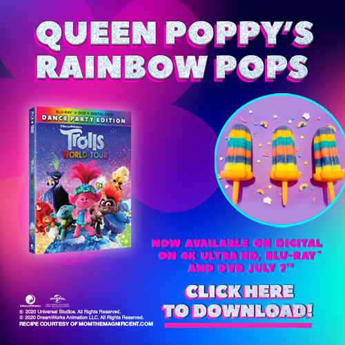 Queen Poppys Rainbow Pops
