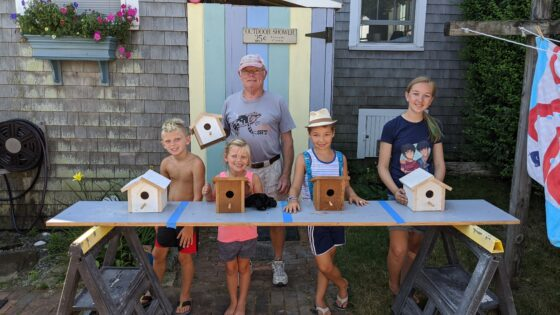 Birdhouses with Grandfather