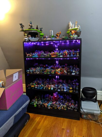 My Skylanders Display