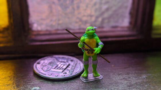 Worlds Smallest TMNT Donatello