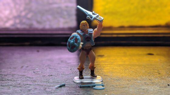 Worlds Smallest MOTU He-Man