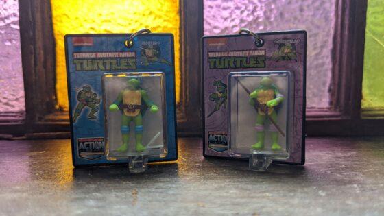 Worlds Smallest TMNT Donatello and Leonardo