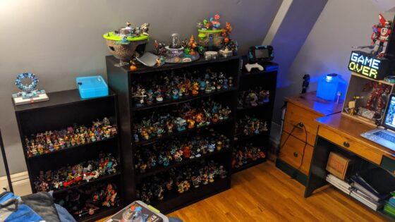 Most of my toys to life toys