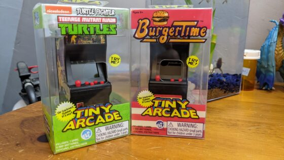 Burger time and TMNT Turtle Fighter