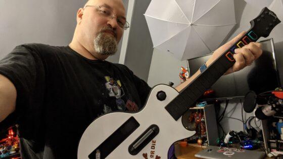 Rocking Guitar Hero