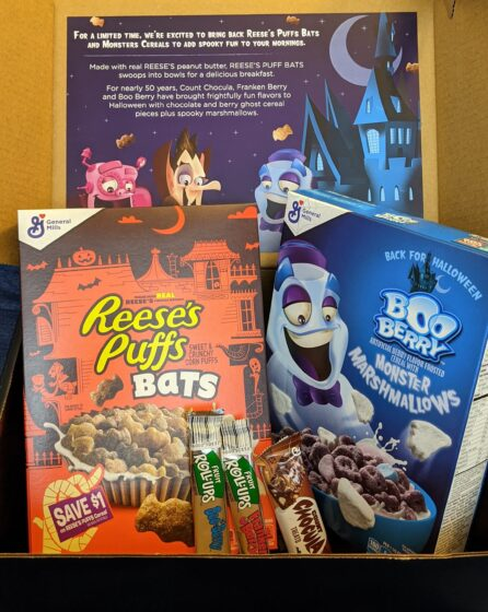 Halloween Gift Box from General Mills