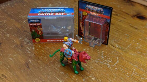 He-Man riding Battle Cat