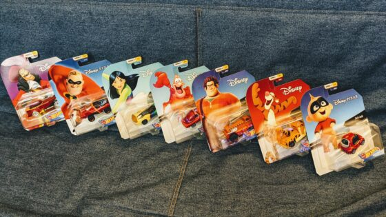 Hot Wheels Disney Character Cars