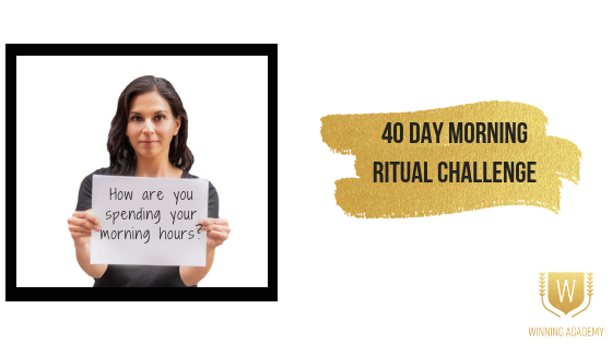 40 Day Morning Ritual Challenge