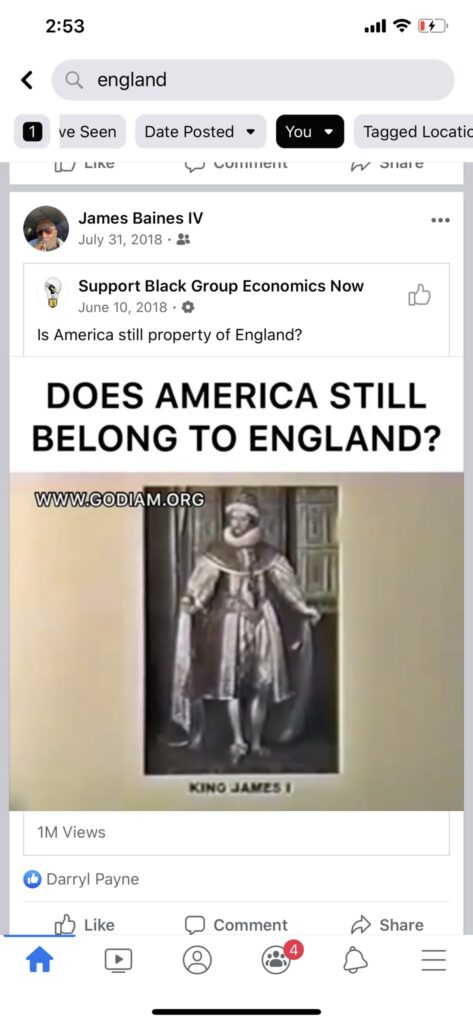 The US Belongs To England