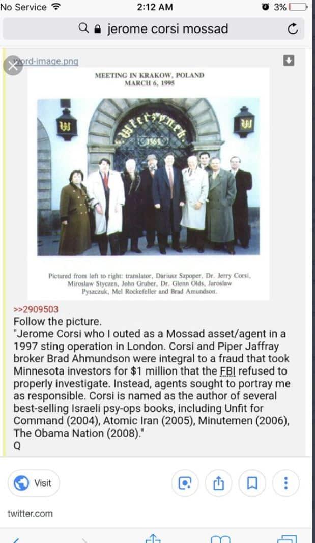 Jerome Corsi_Mossad_Bitch