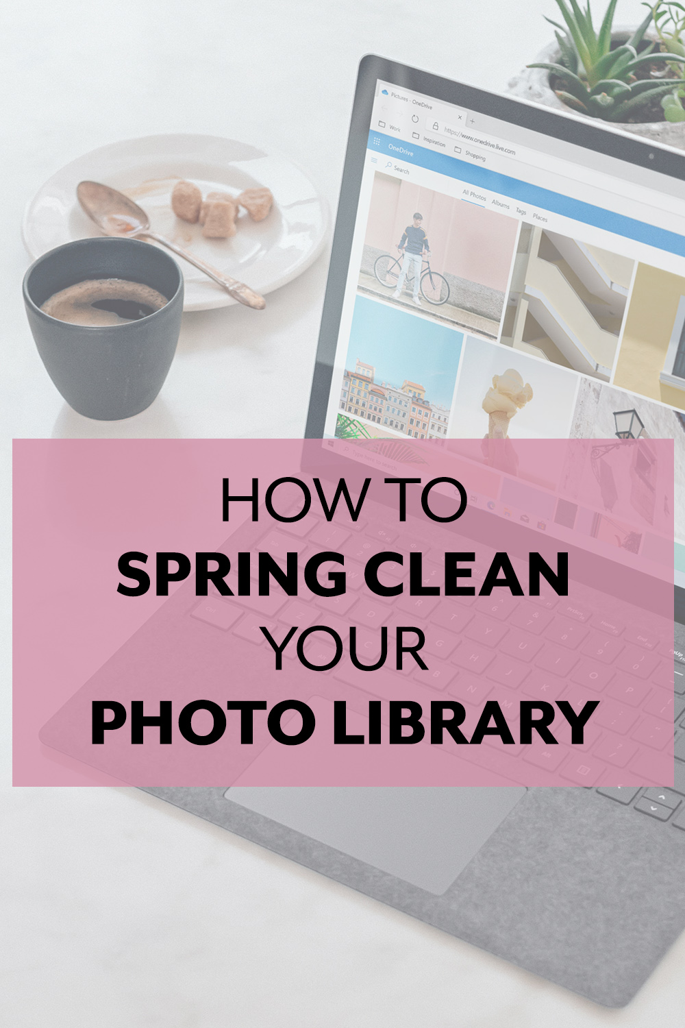 Give your digital photo library a spring cleaning as well!