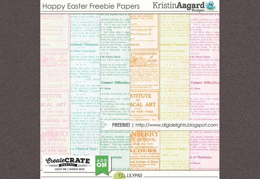 Download this free Easter paper pack