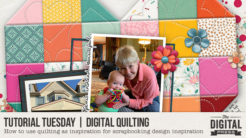 Digital Quilting PhotoShop Tutorial