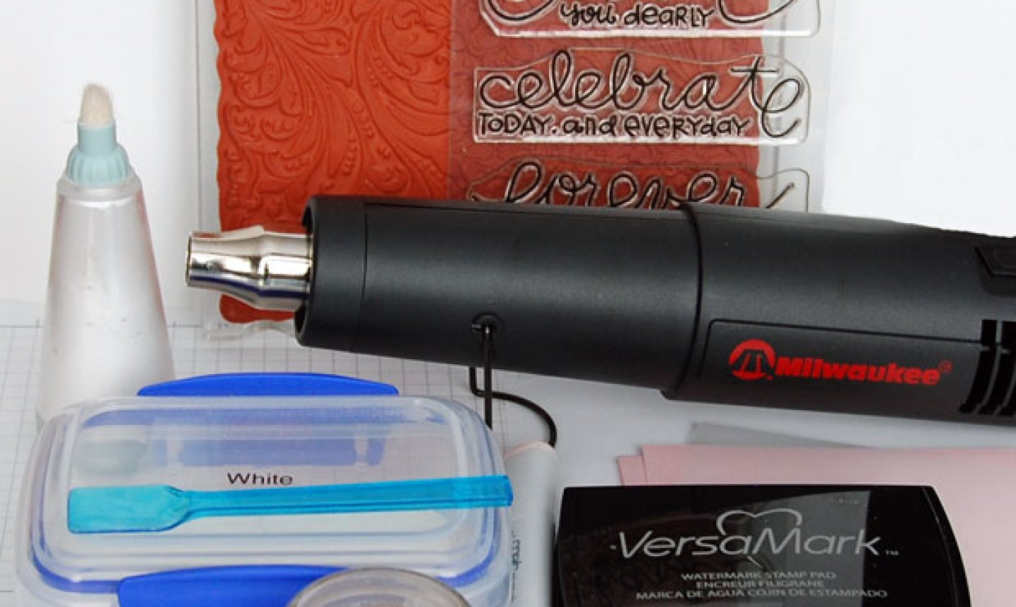 Embossing Powder Supplies
